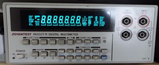 アドバンテスト-デジタルマルチメーター-r6552t-r