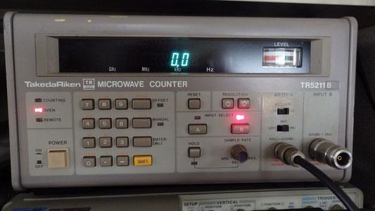タケダ理研マイクロウェーブカウンター-tr5211b
