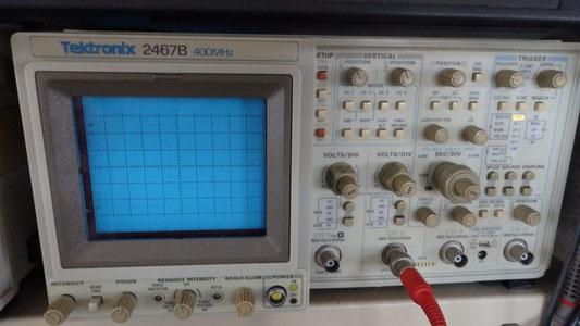 テクトロ二クス-400mhz-シンクロスコープ-2467b