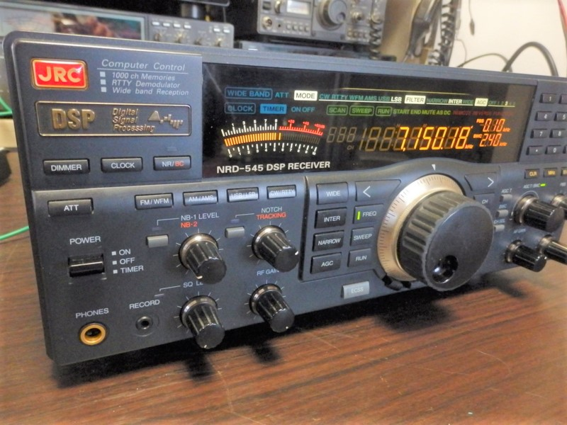 買い取りしたJRCのNRD-545