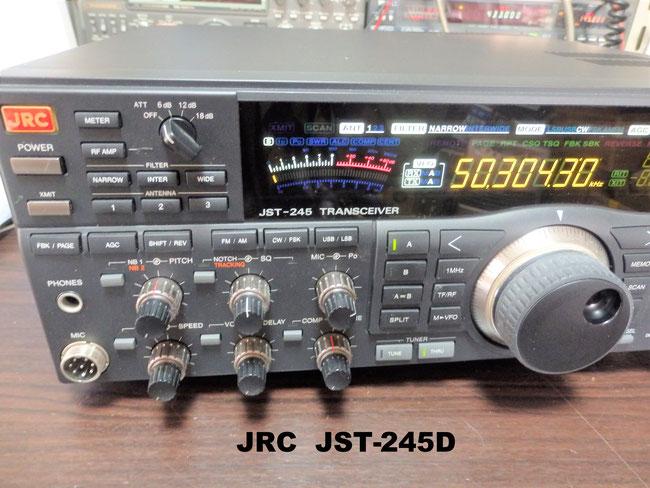 買い取りしたJRCのJST-245