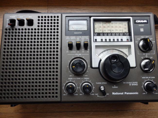 買い取りしたナショナルのRF-2200